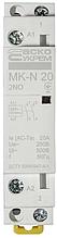 Модульний контактор MK-N 2P 20A 2NO 220V