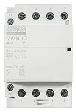 Модульний контактор MK-N 4P 40A 4NO 220V