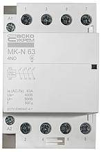 Модульний контактор MK-N 4P 63A 4NO 220V