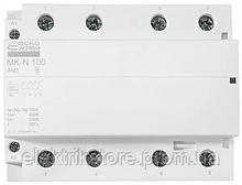 Модульний контактор MK-N 4P 100A 4NO 220V