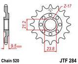 Звезда стальная передняя JT Sprockets JT JTF284.12, фото 2