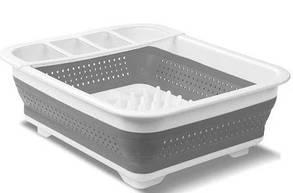 Сушилка для посуды Collapsible Drying 00085, складная, пластик и силикон
