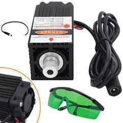 Лазер для резки гравировки MHZ 500 мВт 405 нм