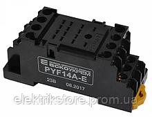 PYF14A-E колодка под реле МY4