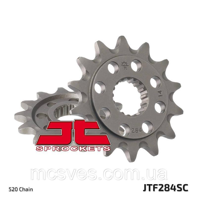 Звезда стальная передняя JT Sprockets JT JTF284.13SC
