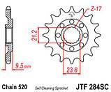 Звезда стальная передняя JT Sprockets JT JTF284.13SC, фото 2