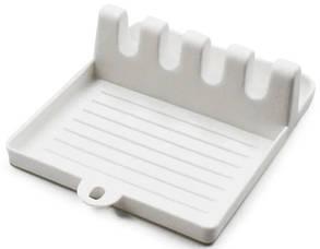 Подставка-держатель для кухонной утвари MHZ7241 пластиковая, белая