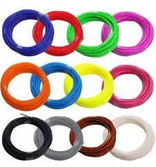 Набор PLA пластика для 3D ручек MHZ, разные цвета, 20 шт