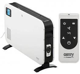 Портативный электрообогреватель конвекторный Camry CR 7724 LCD с дистанционным управлением, белый с черным