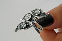 Красивое кольцо из серебра 925*