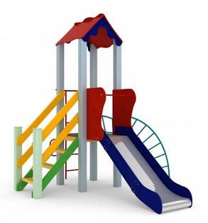 Детский комплекс Петушок, высота горки 1,5 м, фото 2