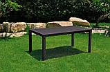 Комплект садовой мебели Allibert by Keter Sorrento Set Brown ( коричневый ), фото 7