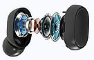 Беспроводные bluetooth наушники MI Redmi Airdots Pro с LED дисплеем стерео гарнитура белые, фото 4