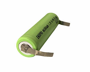 Аккумуляторы AА с лепестками под пайку Ni MH 1,2 В 1800 мАч, фото 2