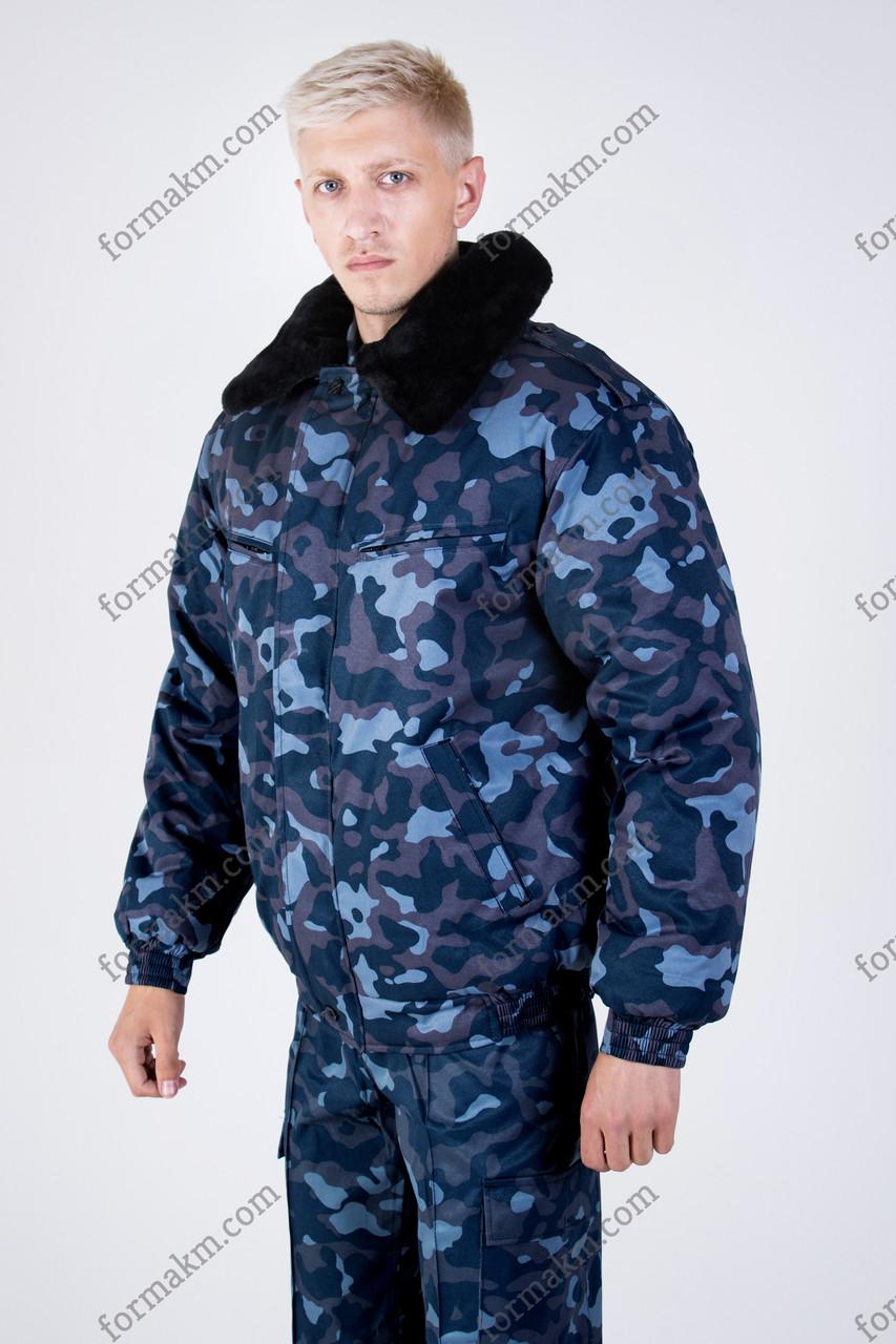 Бушлат Зимний Охрана ОМОН