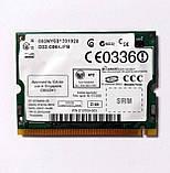 461 Wi-Fi Intel Pro Wireless 2200BG WM3B2200BG 802.11 b/g mini PCI 54 Mbps для ноутбука, фото 2