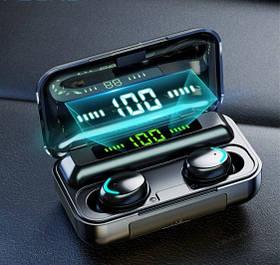 Беспроводные наушники F9-4 сенсорные Bluetooth HD Stereo Heavy Bass