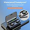 Беспроводные наушники F9-4 сенсорные Bluetooth HD Stereo Heavy Bass - Фото