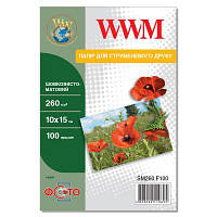 Бумага WWM 10x15 (SM260.F100)