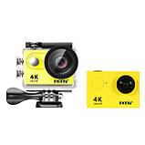 Экшн камера Action Camera EKEN H9 4K yellow для шлема, фото 2