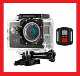 Спортивная Action Camera Экшн камера Q3H WiFi 4K + пульт, фото 2