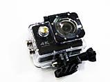 Спортивная Action Camera Экшн камера Q3H WiFi 4K + пульт, фото 4