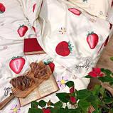 Подростковое постельное белье Viluta Сатин Твил 397 Полуторный SKL53-276711, фото 2