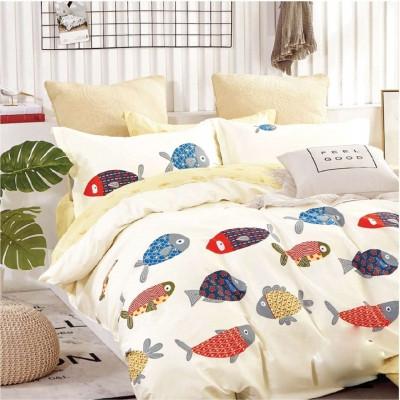 Подростковое постельное белье Viluta Сатин Твил 403 Полуторный SKL53-276717