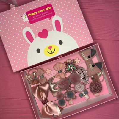 Набор детских аксессуаров для волос из 17 предметов в подарочной коробке SKL11-277641