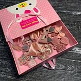 Набор детских аксессуаров для волос из 17 предметов в подарочной коробке SKL11-277641, фото 5