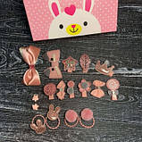 Набор детских аксессуаров для волос из 17 предметов в подарочной коробке SKL11-277641, фото 6