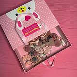 Набор детских аксессуаров для волос из 17 предметов в подарочной коробке SKL11-277641, фото 8