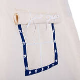 Детская палатка вигвам Springos Tipi Xxl White/Blue SKL41-277684, фото 4