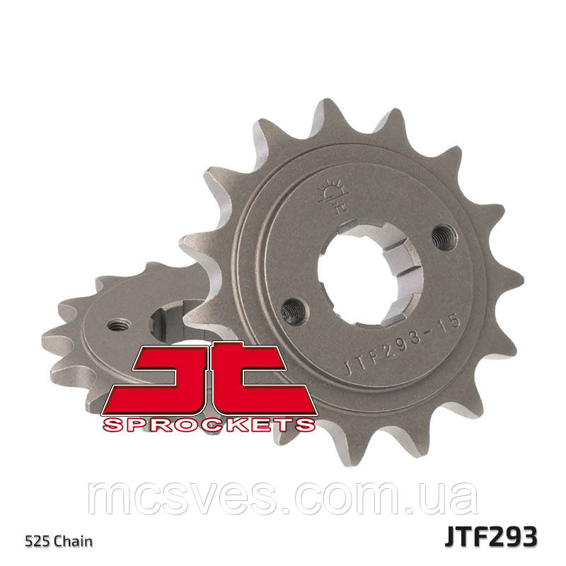 Звезда стальная передняя JT Sprockets JT JTF293.15