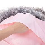 Детский конверт для коляски, санок Maxi 4 в 1 Springos Pink SKL41-277704, фото 4