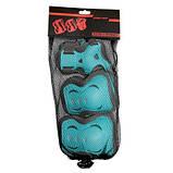 Комплект защитный SportVida Size M Blue/Grey SKL41-277759, фото 6