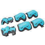 Комплект защитный SportVida Size M Blue/Grey SKL41-277759, фото 7