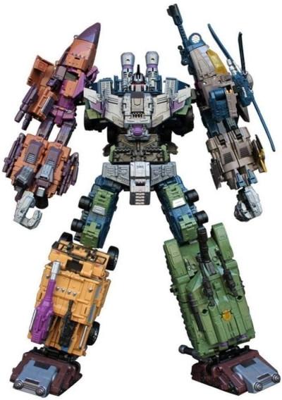 Робот-трансформер комбайнер 5в1, Брутикус, 43 см Bruticus, JinBao SKL14-279058
