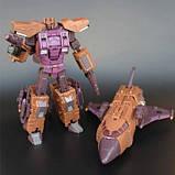 Робот-трансформер комбайнер 5в1, Брутикус, 43 см Bruticus, JinBao SKL14-279058, фото 4