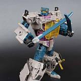 Робот-трансформер комбайнер 5в1, Брутикус, 43 см Bruticus, JinBao SKL14-279058, фото 5