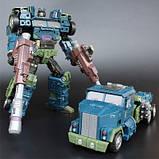 Робот-трансформер комбайнер 5в1, Брутикус, 43 см Bruticus, JinBao SKL14-279058, фото 6