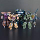 Робот-трансформер комбайнер 5в1, Брутикус, 43 см Bruticus, JinBao SKL14-279058, фото 7