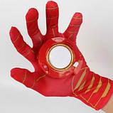 Перчатка Железного Человека со световыми и звуковыми эффектами Iron Man glove SKL14-279066, фото 3