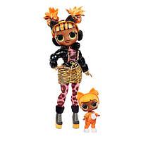 Игровой набор с куклой L.O.L. SURPRISE! серии O.M.G Winter Chill Леди Китти 570271