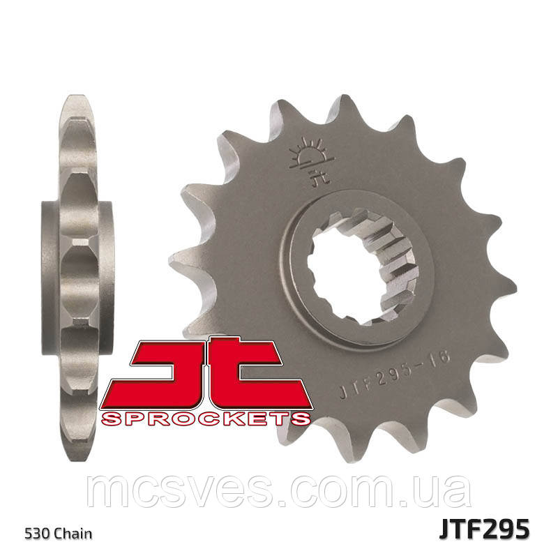 Звезда стальная передняя JT Sprockets JT JTF295.16