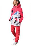 Куртка горнолыжная женская 20125