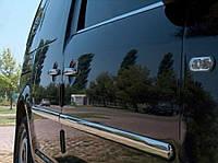 Хром молдинги на авто Volkswagen Caddy (Maxi, 4 шт)) / Накладки на двери Фольксваген Кадди
