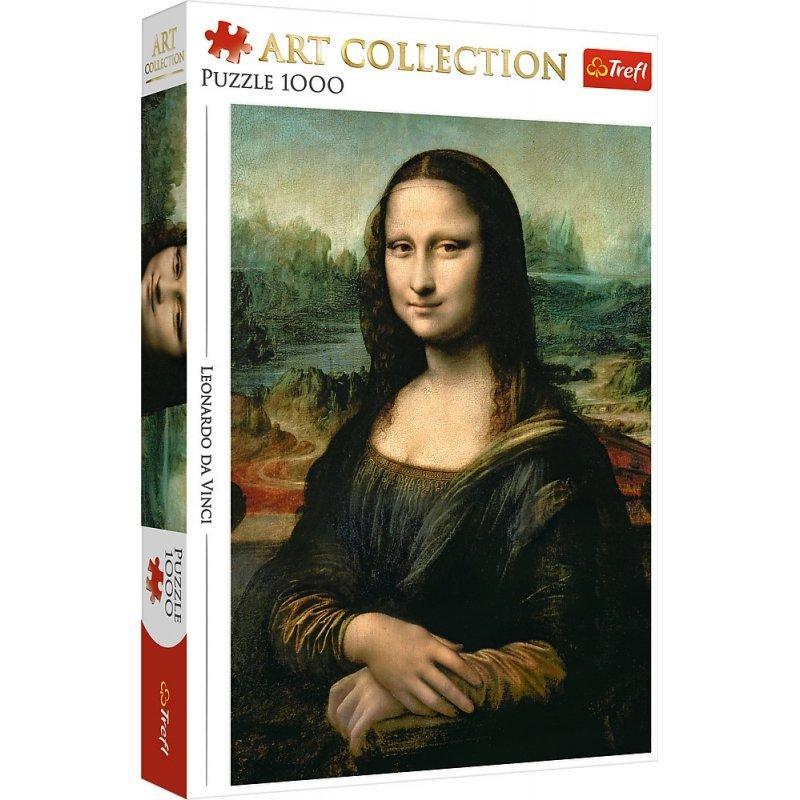 """Пазл """"Леонардо да Винчи. Мона Лиза"""", 1000 элементов Trefl Art Collection (5900511105421)"""