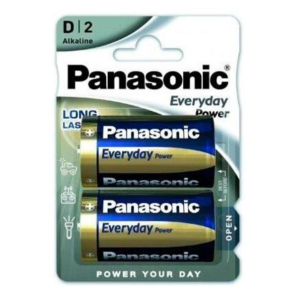Батарейка Panasonic Everyday Power лужна D (LR20) блістер, 2 шт.