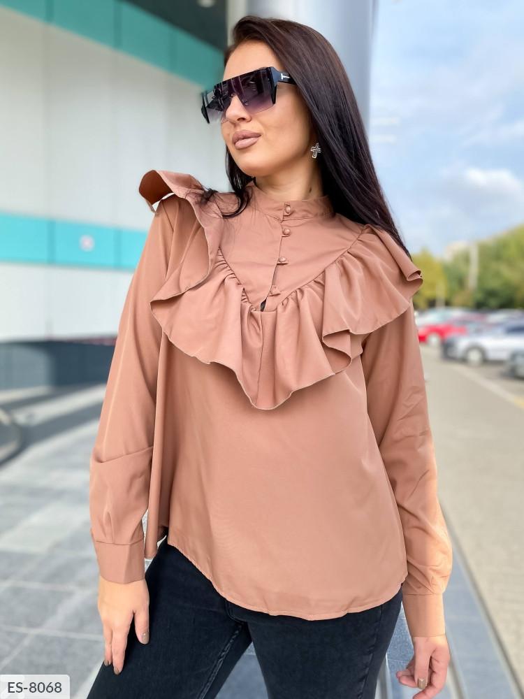 Блуза в расцветках (DG-с41502)